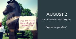 St. Johns: Trojan Horse at the Regatta @ The Royal St. John's Regatta Boathouse | St. John's | Newfoundland and Labrador | Canada