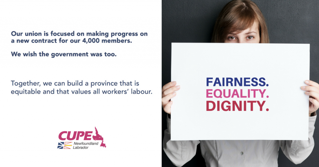 CUPE message on bargaining