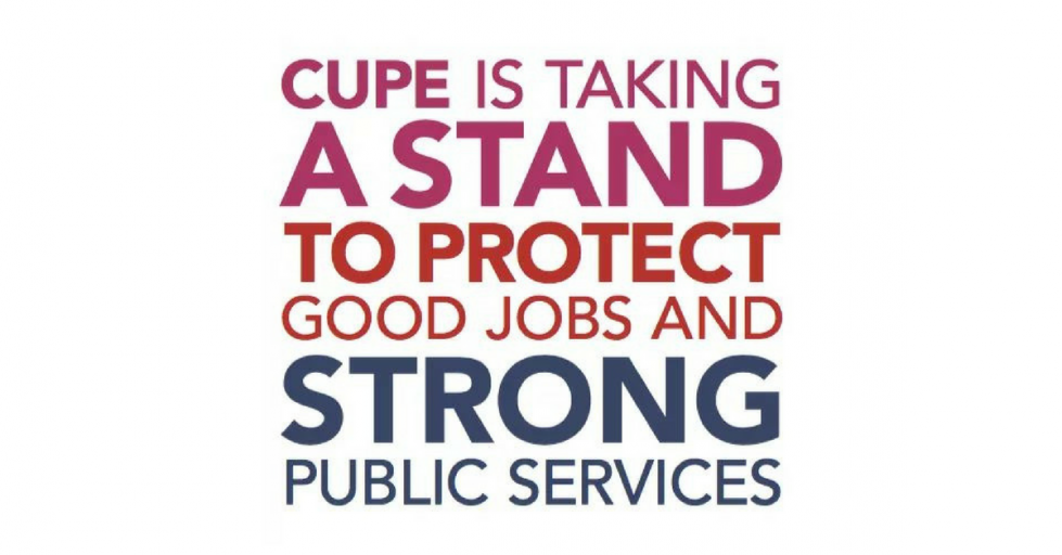 CUPE is taking a stand for good jobs and strong public services