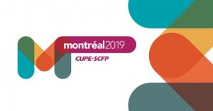 CUPE National convention banner