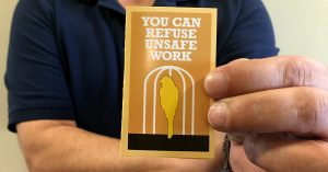 Card: you can refuse unsafe work