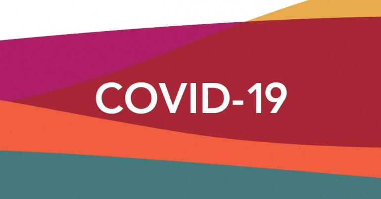 Web banner: COVID-19