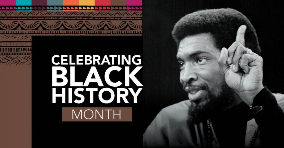 Web banner: CUPE celebrates Black History Month